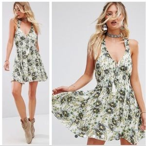 FREE PEOPLE Washed Ashore Floral Dress